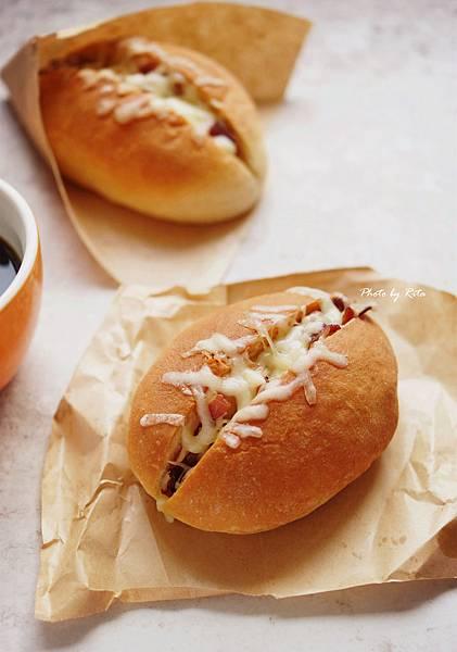 培根起司早餐堡