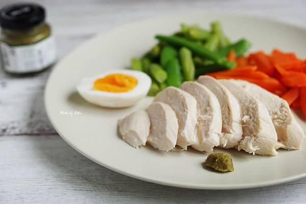 超簡易鹹雞胸肉火腿
