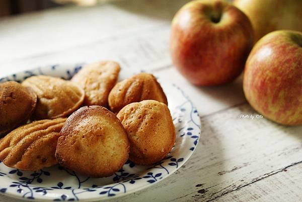 芙蘭絲式蘋果瑪德蓮