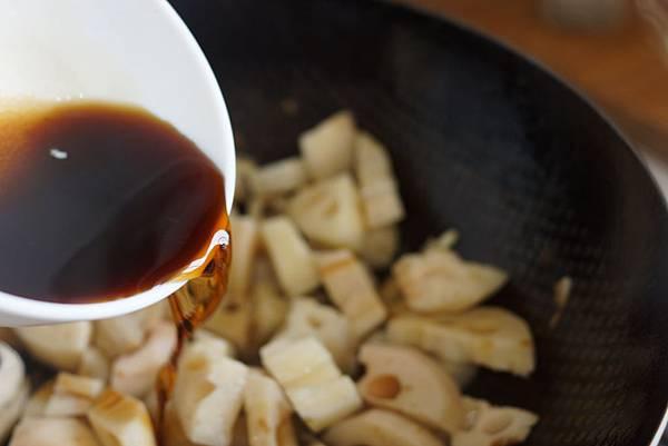 豬肉炒蓮藕