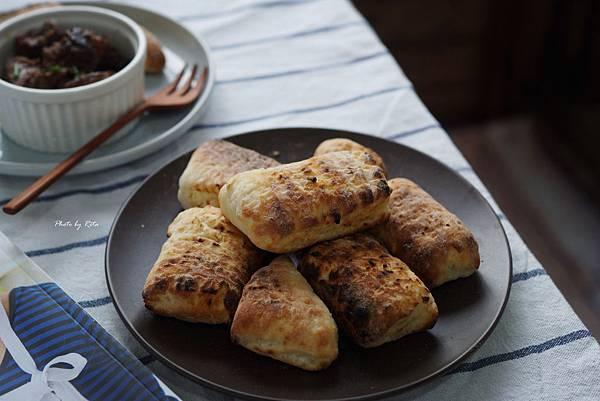 簡易網烤麵包