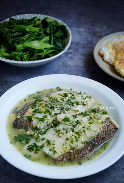 鱈魚佐綠莎莎醬