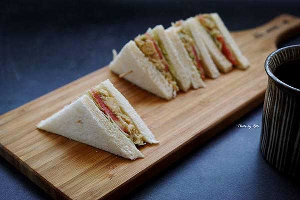 鮪魚不見了三明治