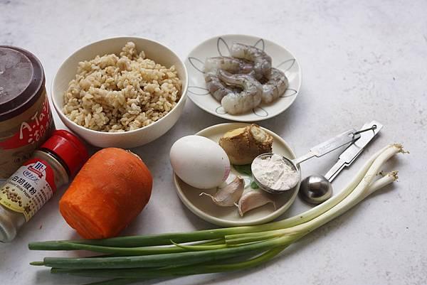 蝦泥米煎餅
