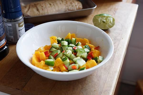 芒果小黃瓜莎莎醬