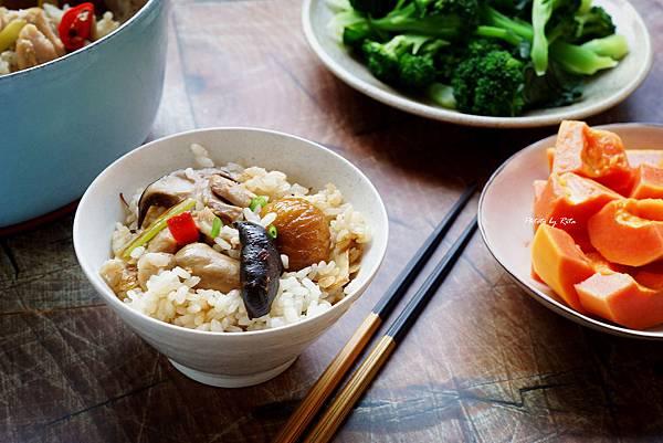 栗子雞肉炊飯_副本