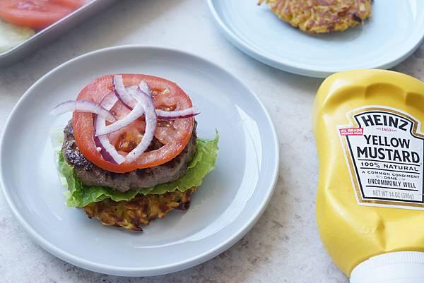 地瓜牛肉漢堡