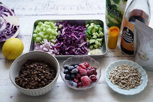扁豆生薑沙拉