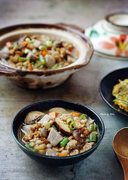 芋頭糙米粥