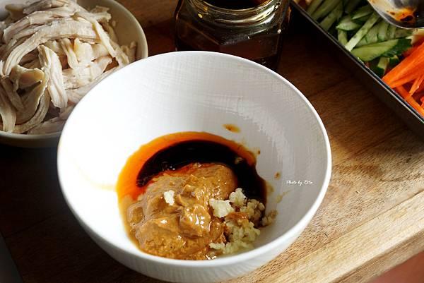 麻醬蒟蒻涼麵