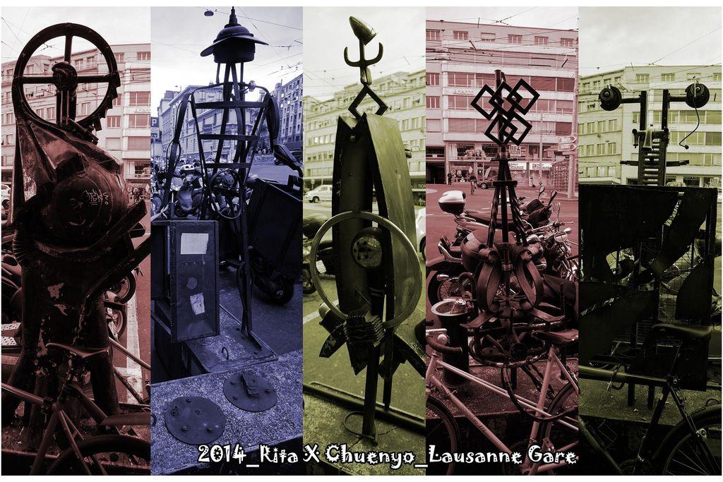 2014_Rita X Chuenyo_Lausanne Gare