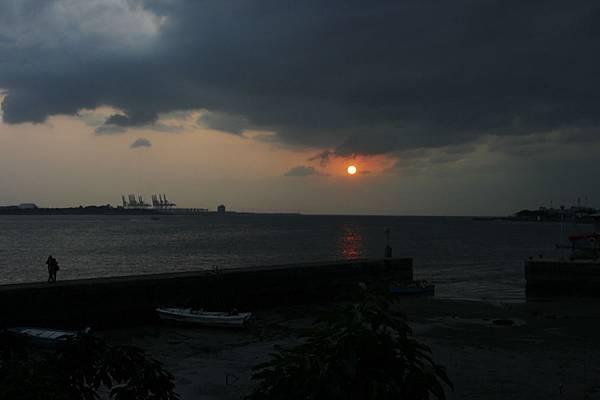舊漁港的黃昏