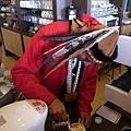 咖啡王子正在調製卡布奇諾