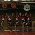鄒族姑娘的舞蹈表演