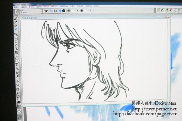 第一次用數位筆畫圖