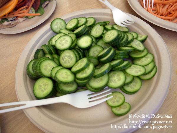 鷹嘴豆泥加蔬菜 5