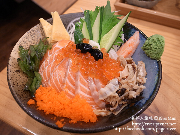 海力士 鮭魚親子丼