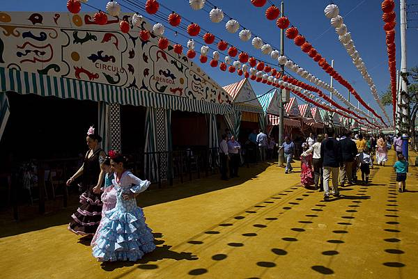 April-Fair-in-Seville-Spain