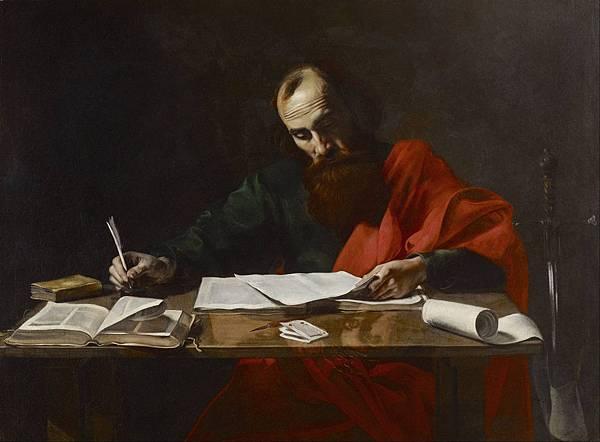 使徒保羅撰寫書信
