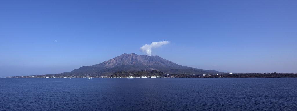 Sakurajima 櫻島