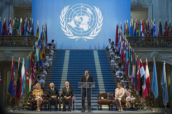 舊金山慶祝聯合國憲章簽署70周年