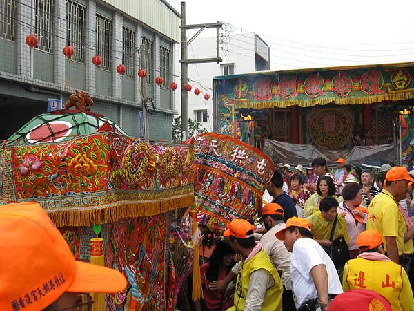 99年(2010)白沙屯拱天宮天上聖母往北港徒步進香