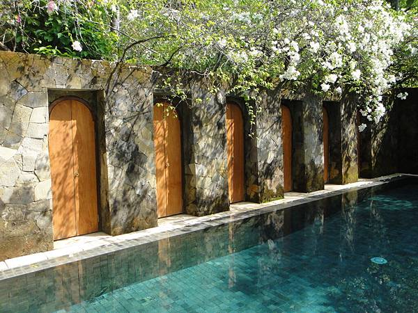 泳池villa