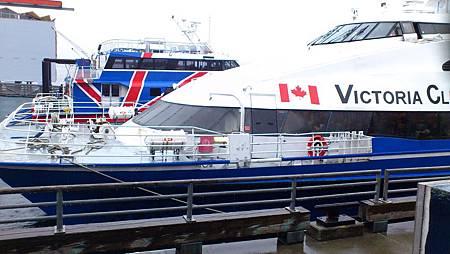 西雅圖到維多利亞港的快艇