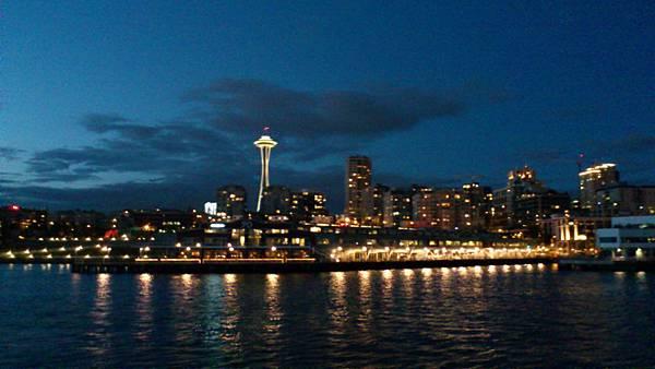 西雅圖夜景