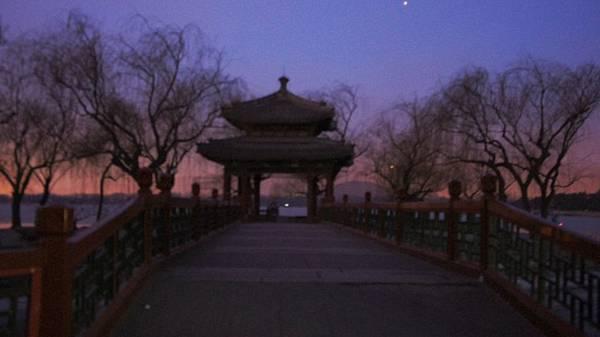 夜遊頤和園