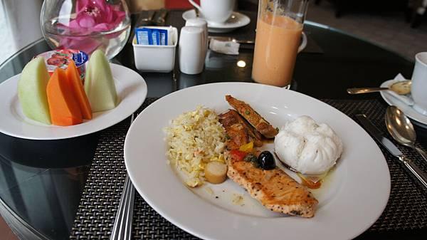 俱樂部樓層的早餐