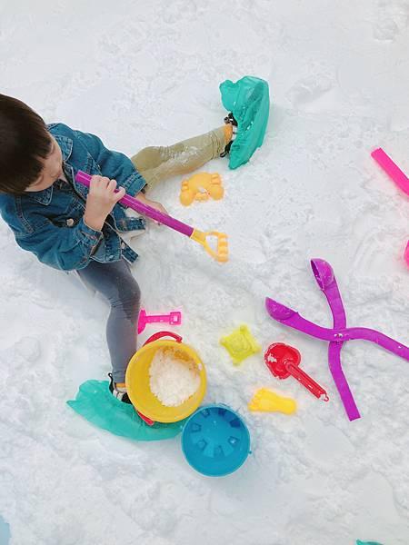南港中信溜冰挖雪