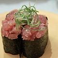 櫻花白魚軍艦壽司
