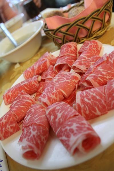 漂亮的牛肉