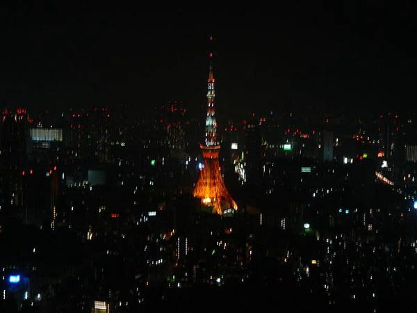 Hills展望台外望-東京鐵