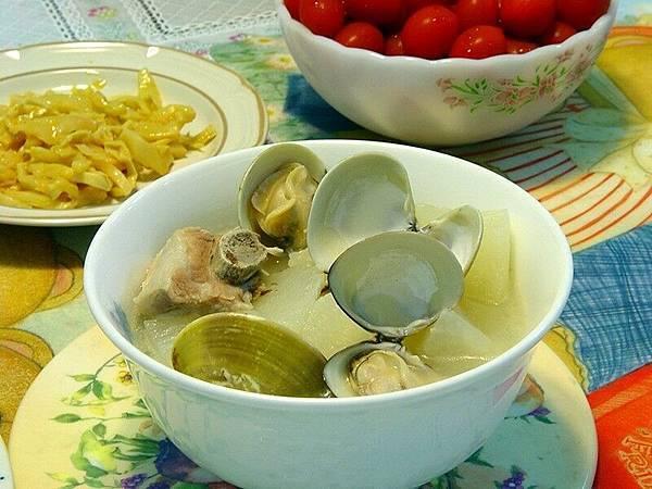 蛤犡排骨蘿蔔湯 - 05.05.09