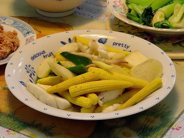 花枝炒筊白筍 - 05.05.10