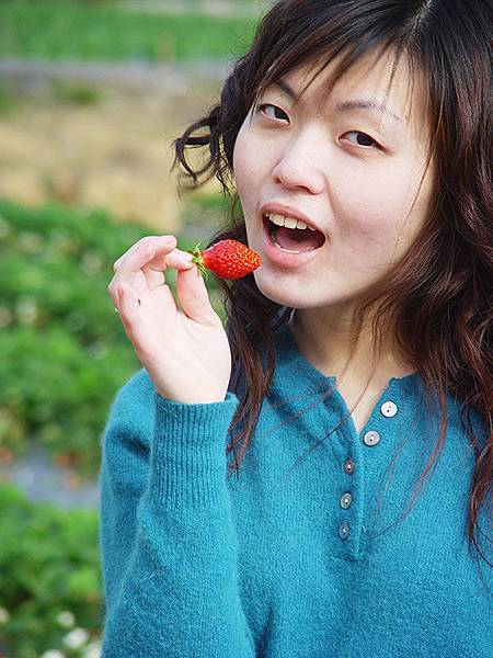 Vicki想吃草莓