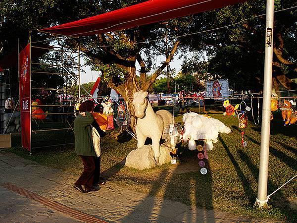 台中公園雕像