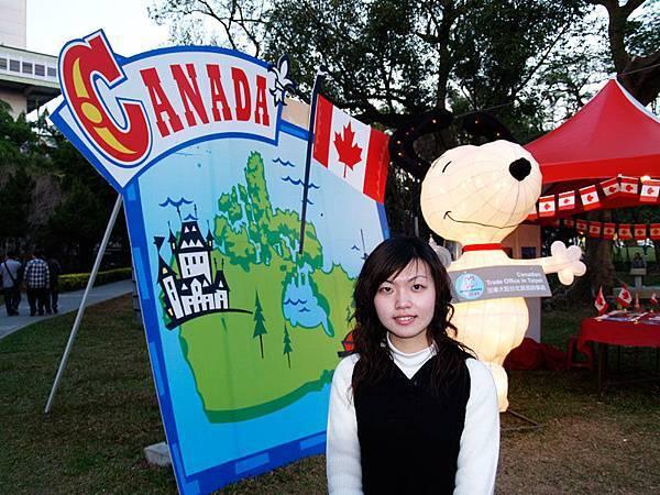 Vicki 加拿大Snoopy