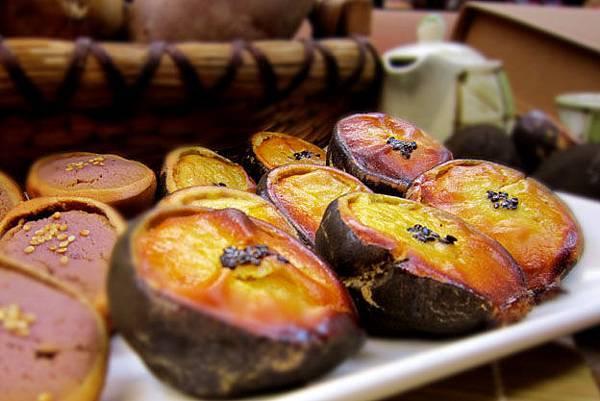 2011花蓮國際石雕展吃石頭燒