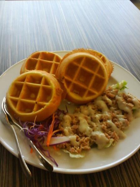 鮪魚鬆餅-2