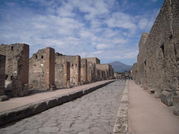 Pompeii 街道一角