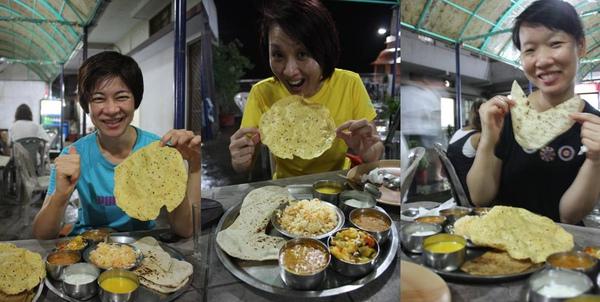 042-1 享受人生的25件奢侈品之一 AND Thali + BEER + Masala tea, 抵達印度的第一頓晚餐,超讚的啦~.jpg