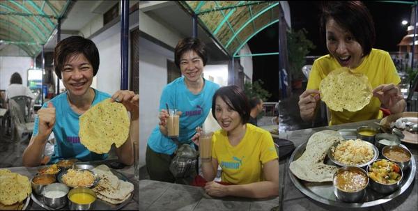 042 享受人生的25件奢侈品之一 AND Thali + BEER + Masala tea, 抵達印度的第一頓晚餐,超讚的啦~.jpg