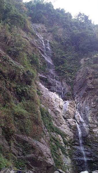 涼山瀑布第三層