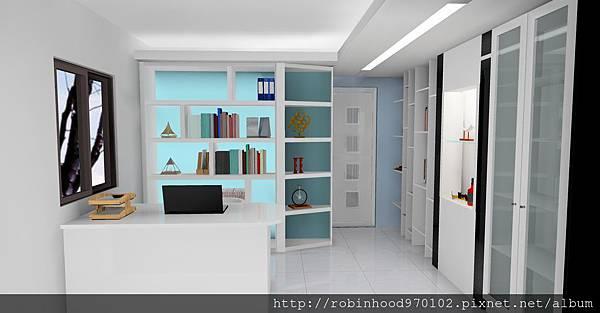 3D書房示意圖
