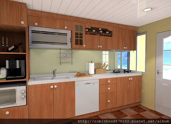 鄉村風廚房設計
