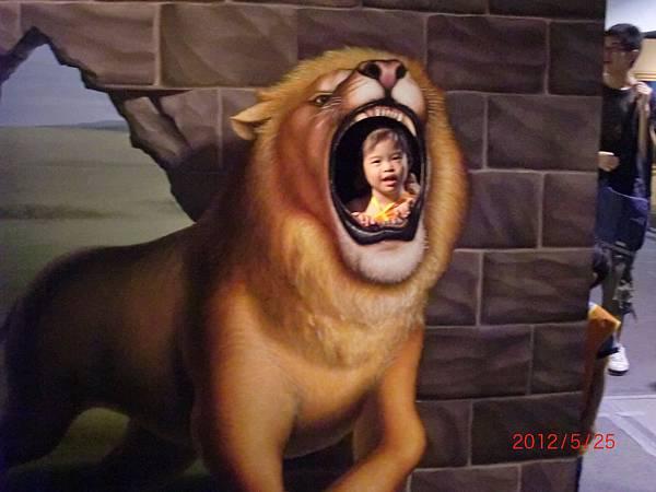 我是可愛獅子
