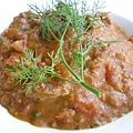 鯷魚牛肉茄汁義大利麵